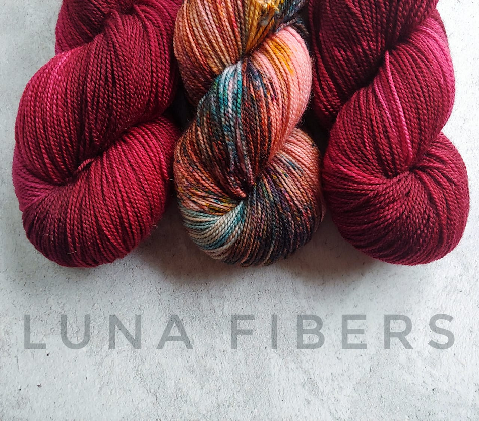 Where can you find Luna Fibers yarn?