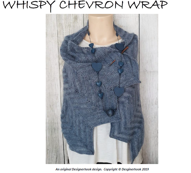 WHISPY WRAP CROCHET PATTERN