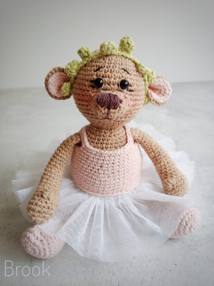 BROOK BEAR CROCHET PATTERN