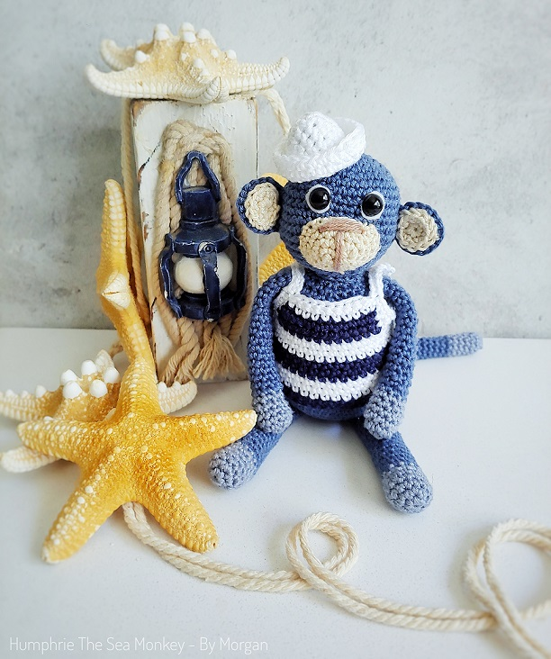 HUMPHRIE THE SEA MONKEY CROCHET PATTERN